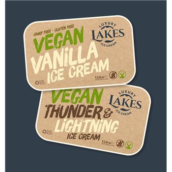 Vegan Thunder & Lightning Ice Cream (1L)