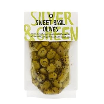 Cumbrian Marinated Sweet Basil Olives