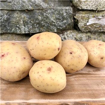 Potatoes, washed whites (2kg)