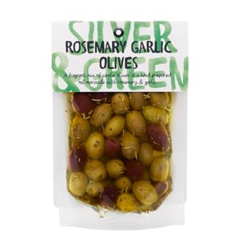 Cumbrian Marinated Rosemary & Garlic Olives